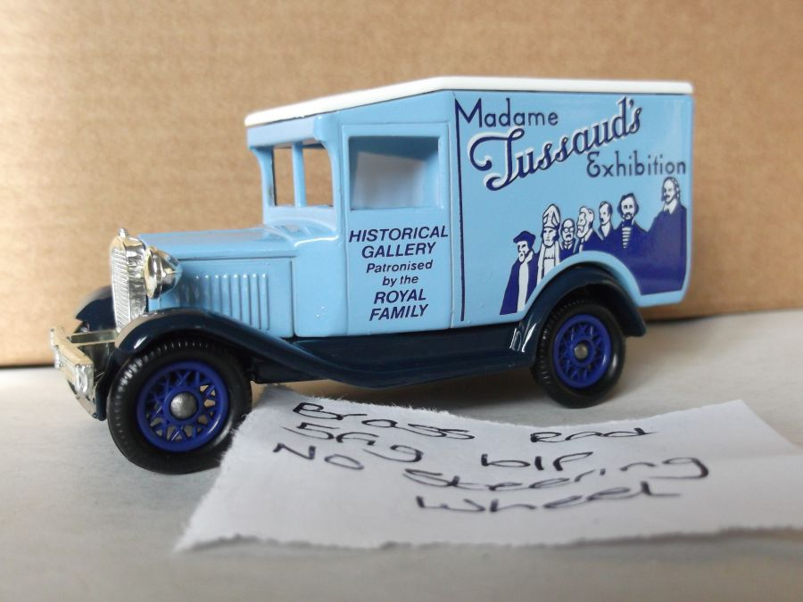 DG13040, Model A Ford Van, Madame Tussaud's Exhibition