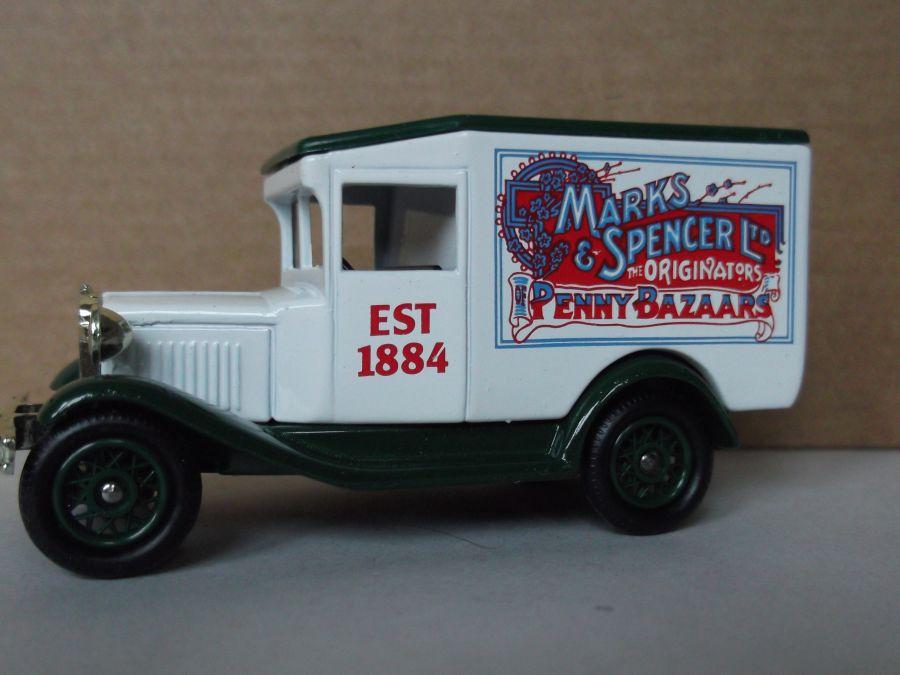 DG13041, Model A Ford Van, Marks & Spencer
