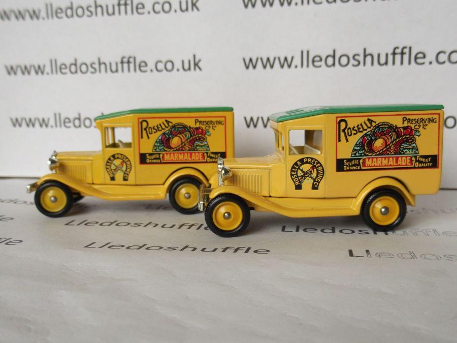 DG13046, Model A Ford Van, Rosella Marmalade