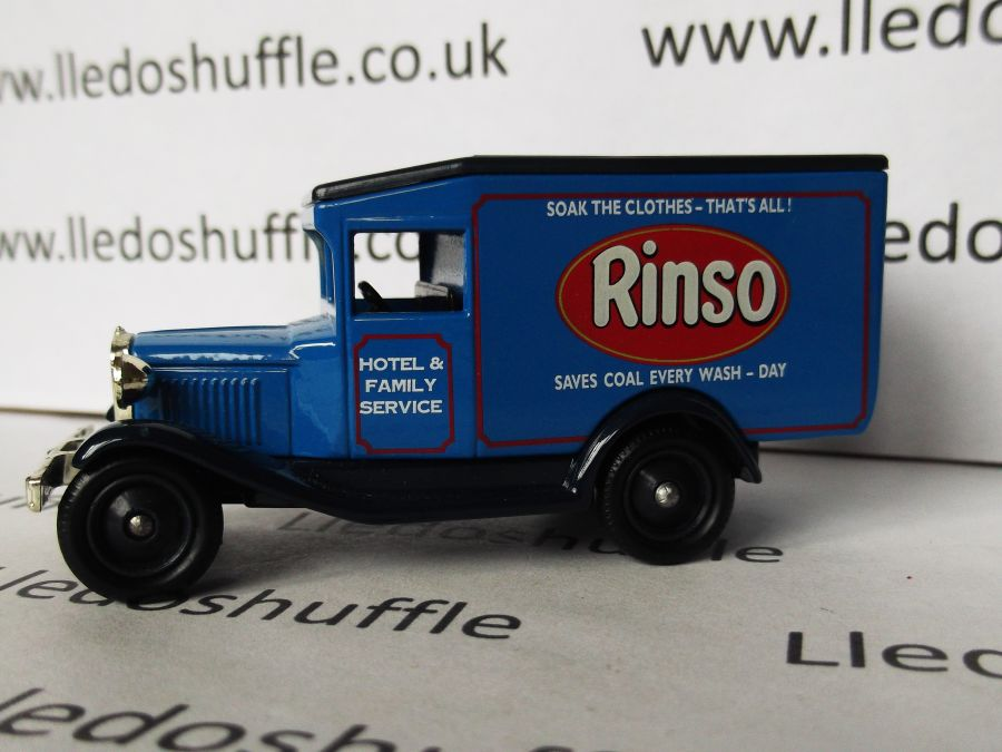 DG13049, Model A Ford Van, Rinso Soap