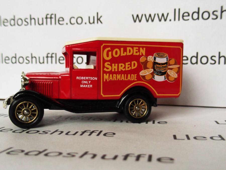 DG13055, Model A Ford Van, Golden Shred Marmalade