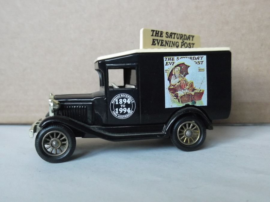 DG13063, Model A Ford Van, Norman Rockwell, The Saturday Evening Post