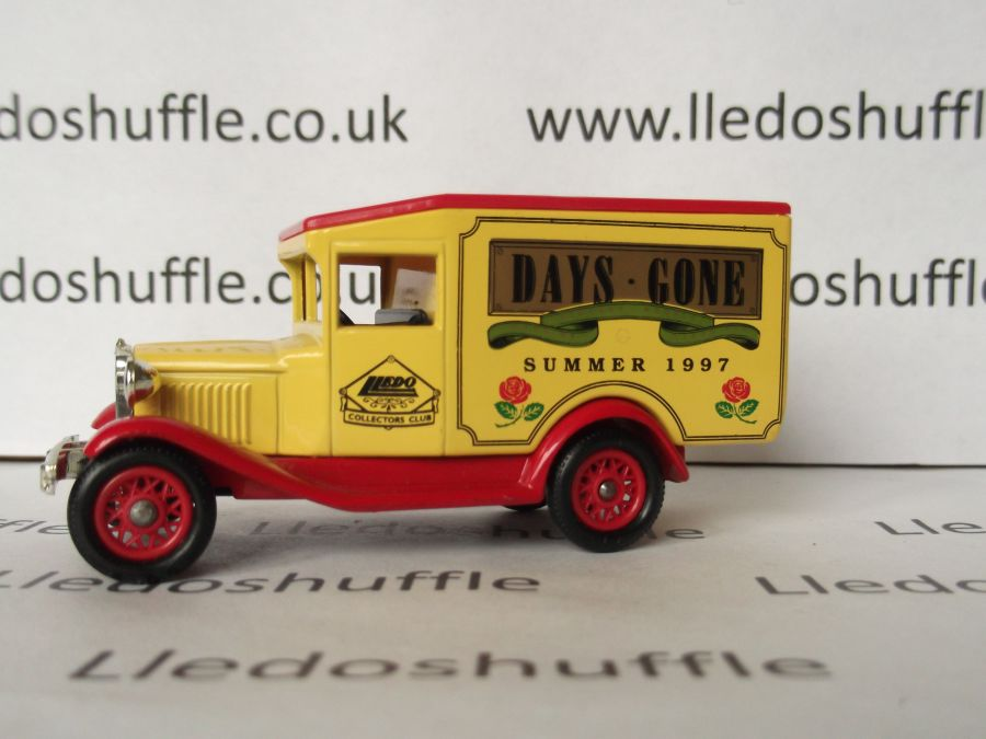 DG13073, Model A Ford Van, DGCC, Summer 1997