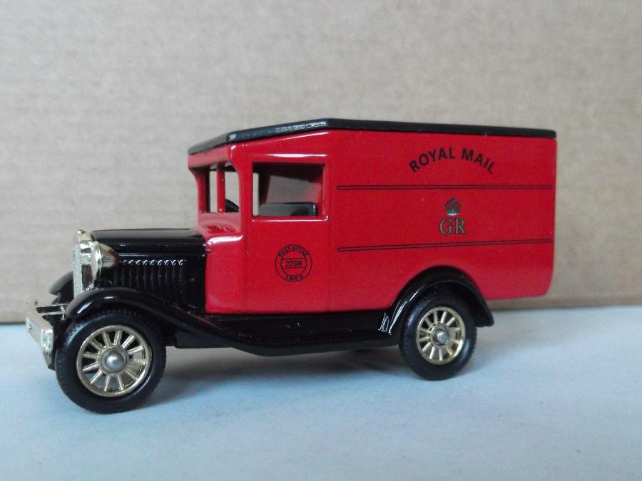DG13079, Model A Ford Van, Royal Mail