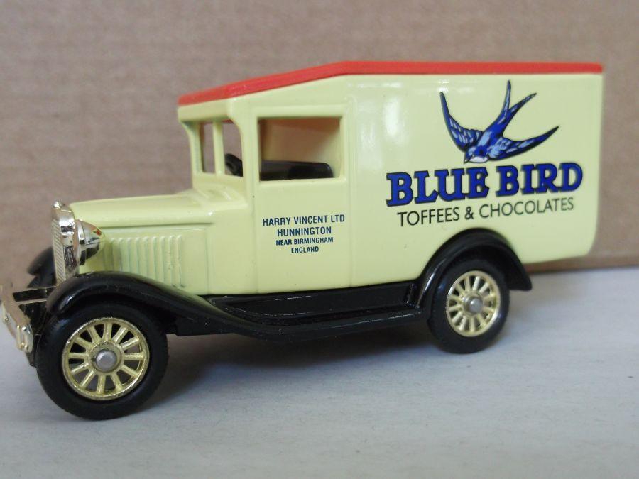 DG13082, Model A Ford Van, Blue Bird Toffees