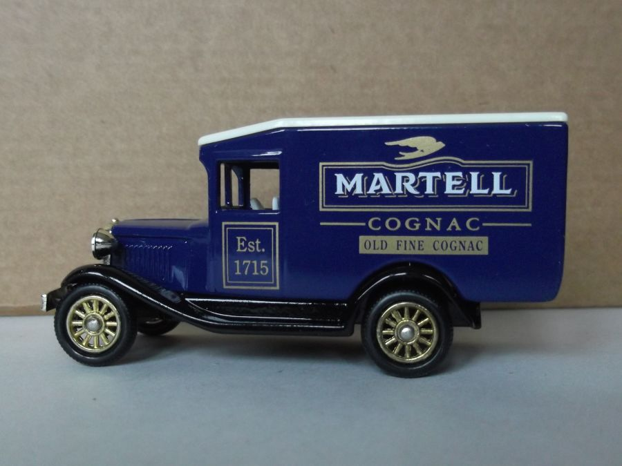 DG13087, Model A Ford Van, Martell Cognac
