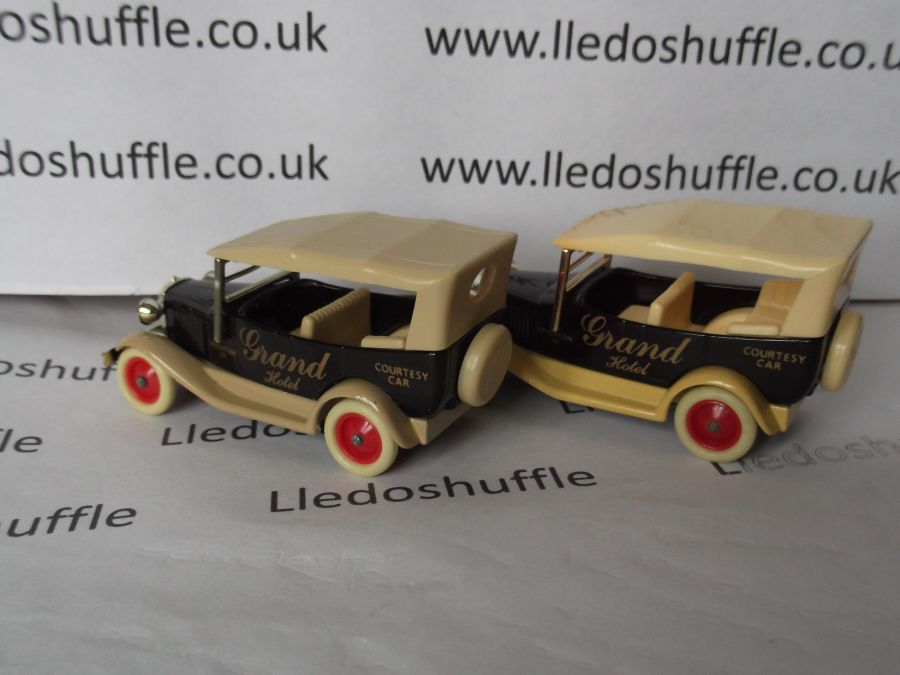 DG14004, Model A Ford Car with Hood, Grand Hotel