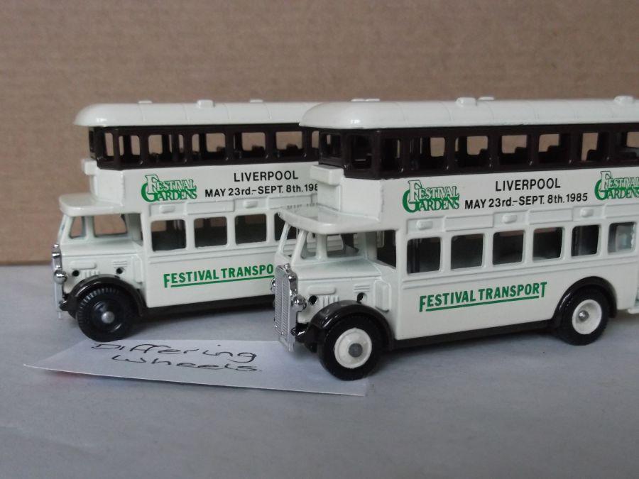 DG15004, AEC Regent Bus, Liverpool Gardens