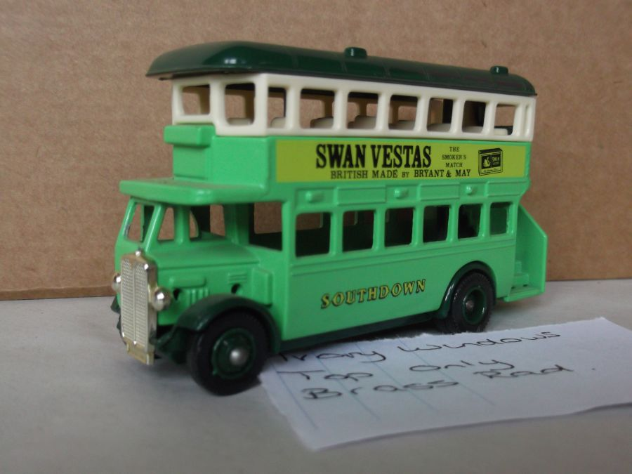 DG15010, AEC Regent Bus, Southdown, Swan Vestas
