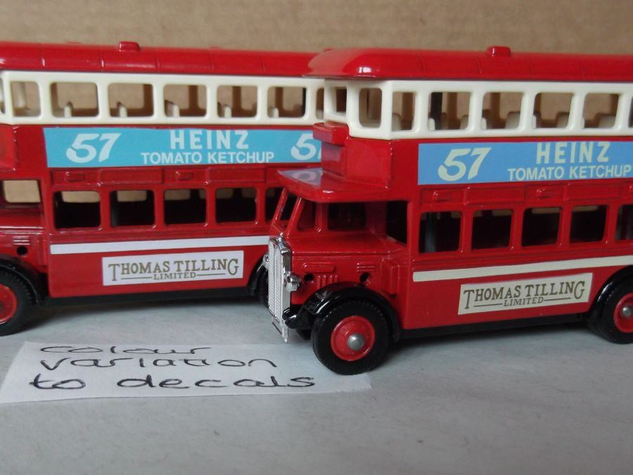 DG15012, AEC Regent Bus, Thomas Tilling, Heinz 57