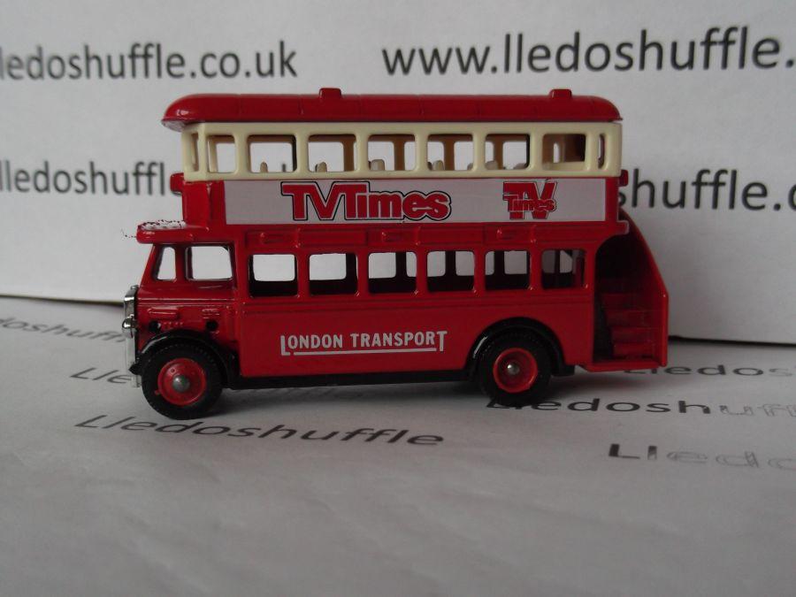 DG15014, AEC Regent Bus, TV Times