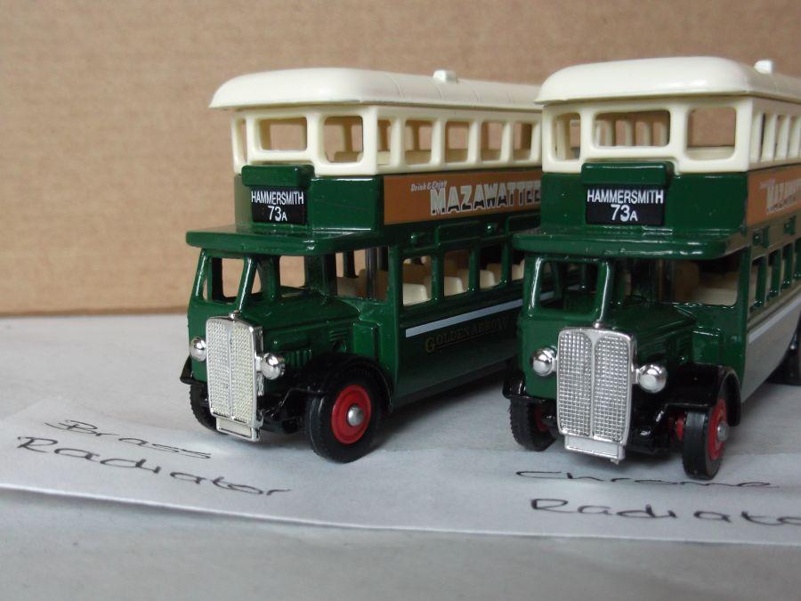 DG15029, AEC Regent Bus, Mazawattee Tea