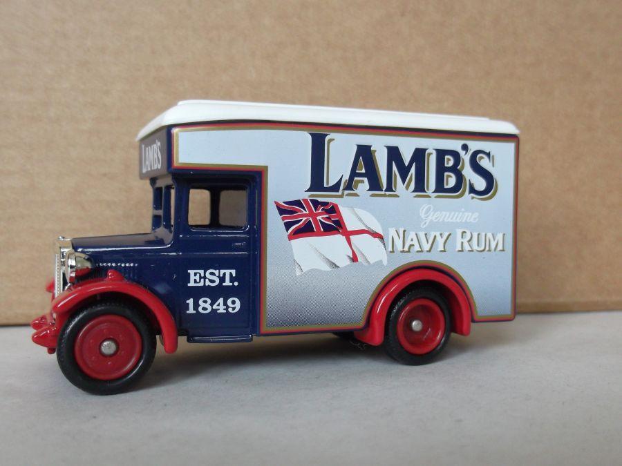 DG16046, Dennis Parcels Van, Lambs Navy Rum