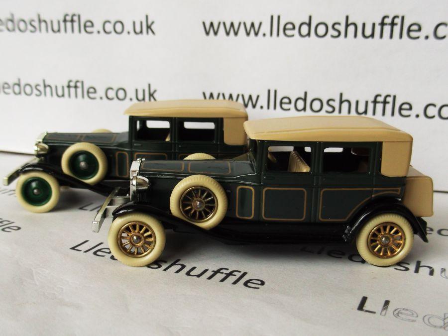 DG19006, Rolls Royce Phantom II Brewster, Dark Green with Coach Lines
