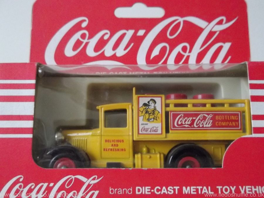 DG20001, Ford Stake Truck, Coca Cola