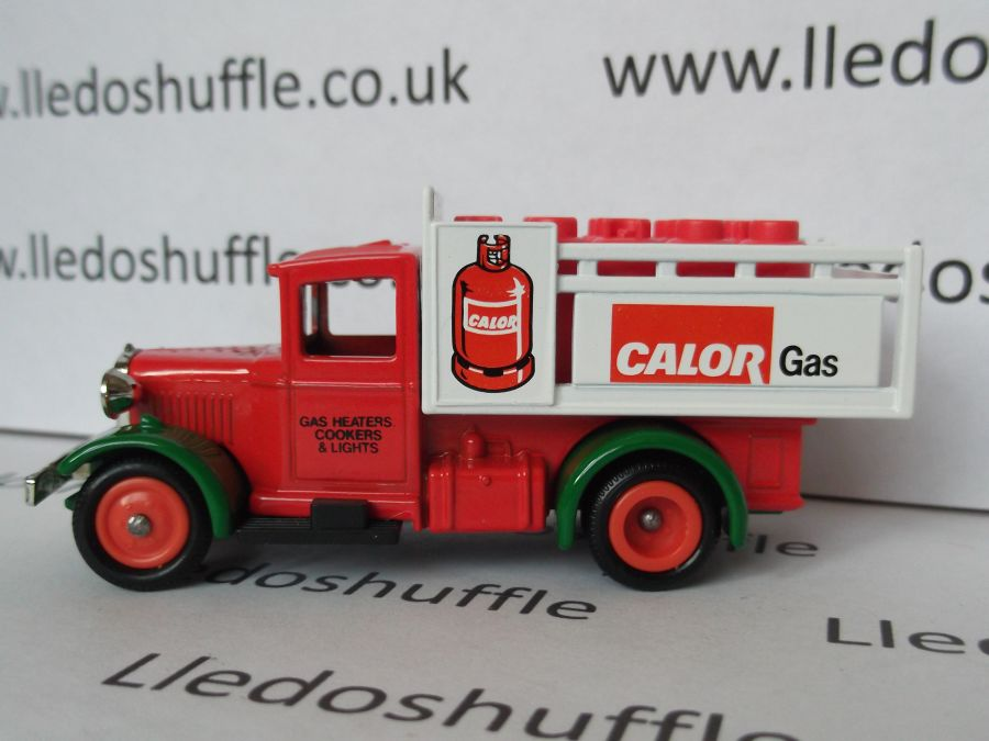 DG20010, Ford Stake Truck, Calor Gas