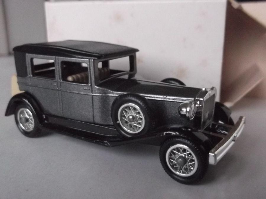 DG25002, Rolls Royce Silver Ghost Barker, Metallic Grey