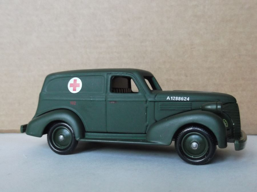 DG30011, Chevrolet Sedan Delivery Van, Army Light Ambulance