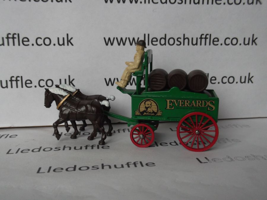 DG31001, Horse Drawn Brewers Dray, Everards Brewery