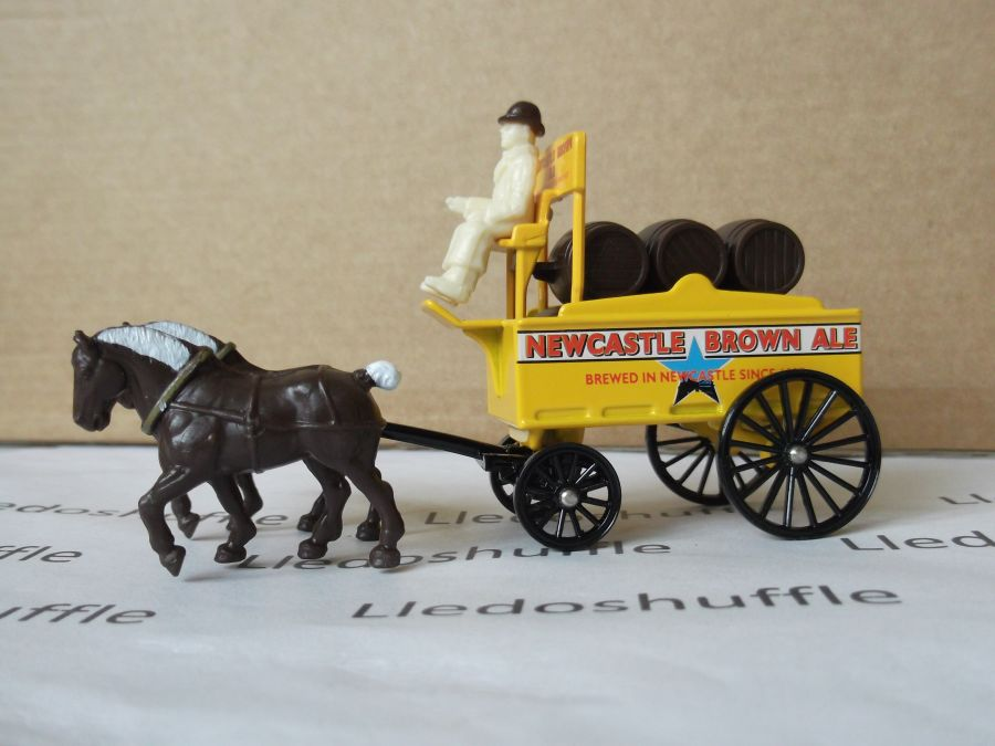 DG31011, Horse Drawn Brewers Dray, Newcastle Brown Ale