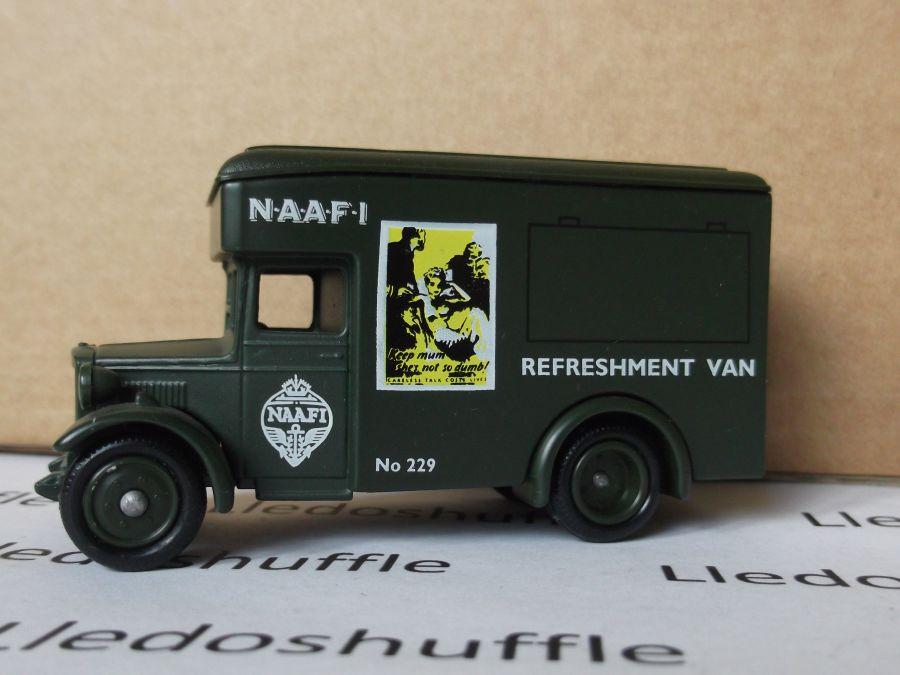 DG16033, Dennis Parcels Van, NAAFI Refreshment Van