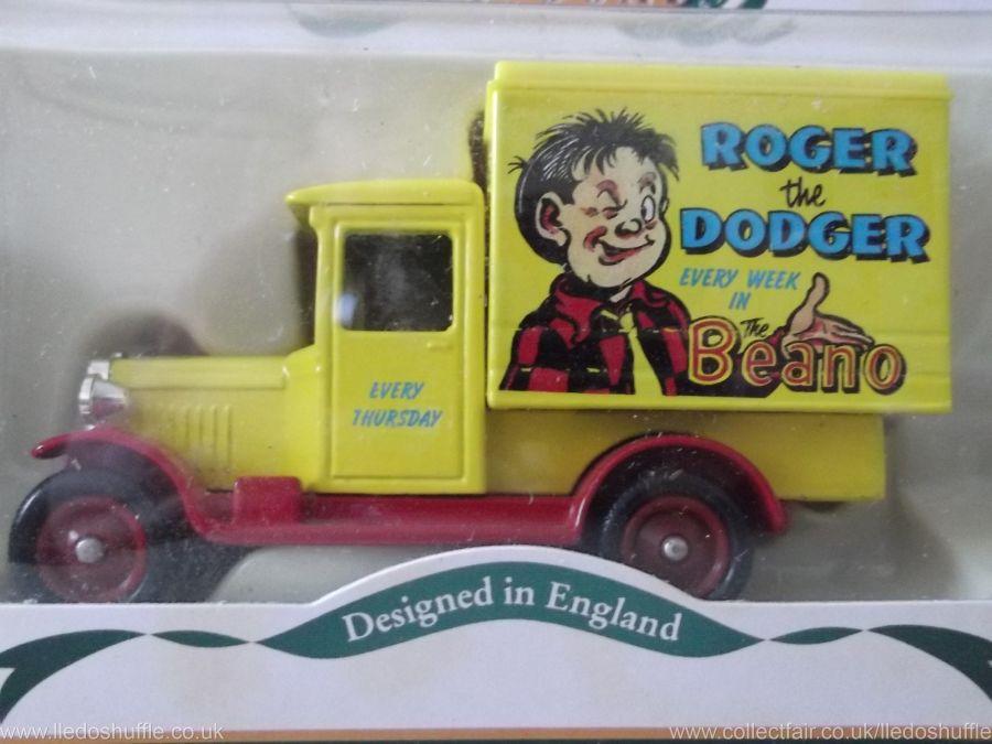 DG51024, Chevrolet Box Van, Roger the Dodger, Beano