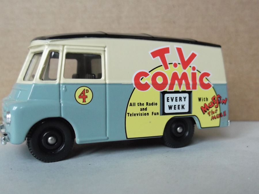 DG71021, Morris LD150 Van, TV Comic