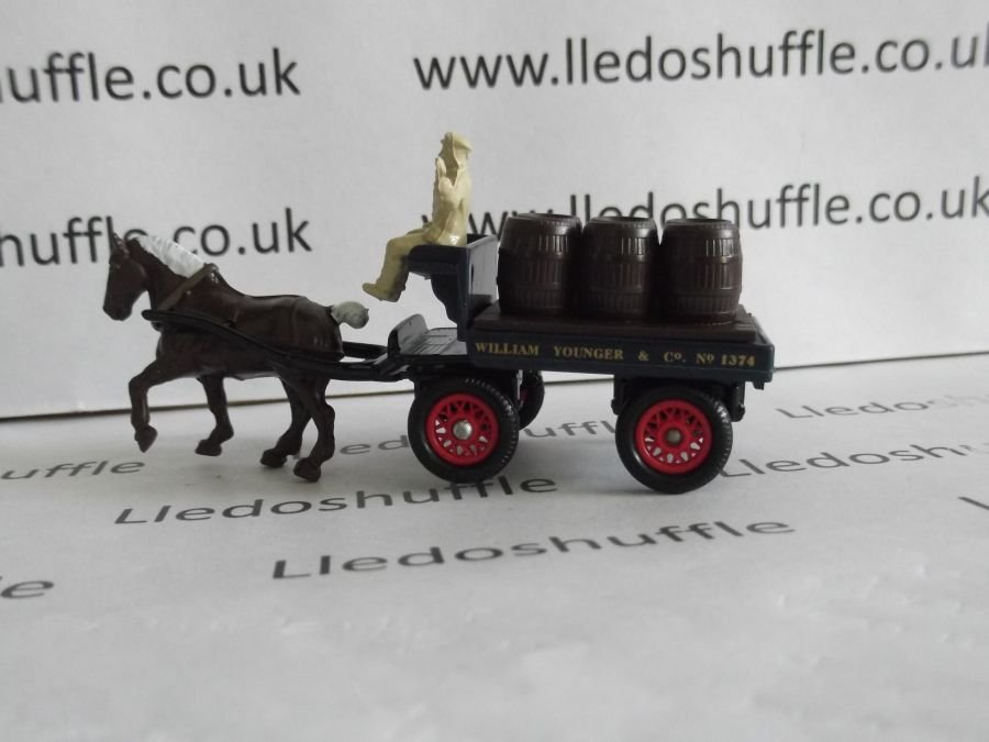 DG102000, Horse Drawn Brewers Dray, William Younger & Co. Edinburgh