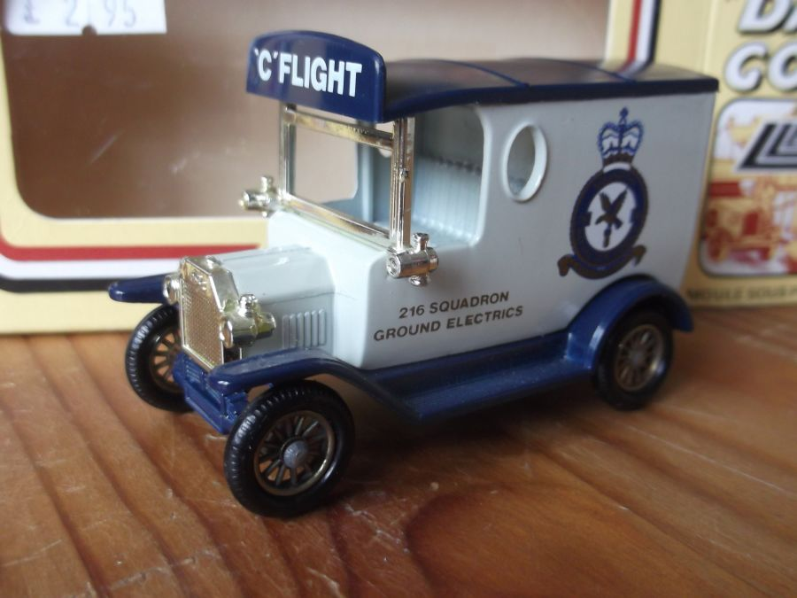DG06063, Model T Ford Van, Royal Air Force 216 Squadron