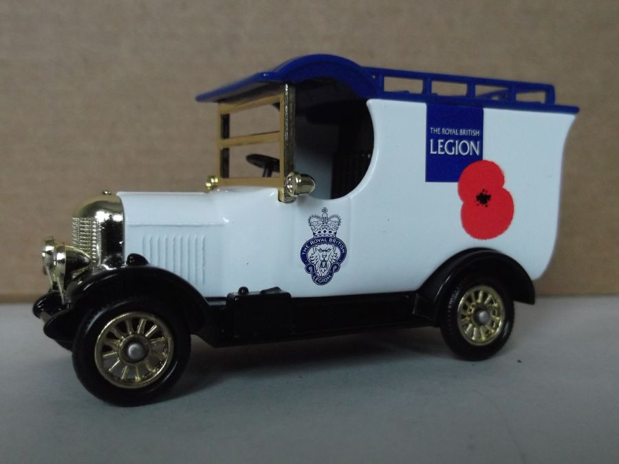 DG50071, Bull Nose Morris, The Royal British Legion