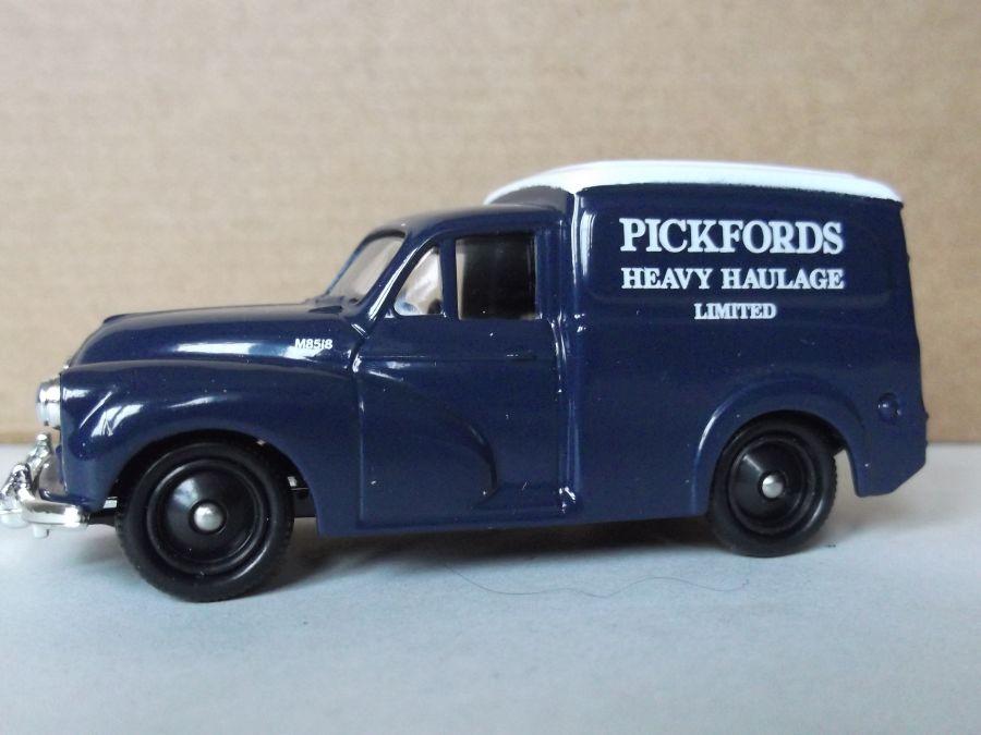 DG127002, Morris Minor Van, Pickfords Heavy Haulage Ltd
