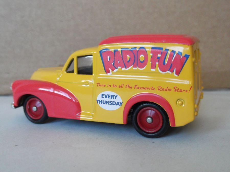 DG127005, Morris Minor Van, Radio Fun