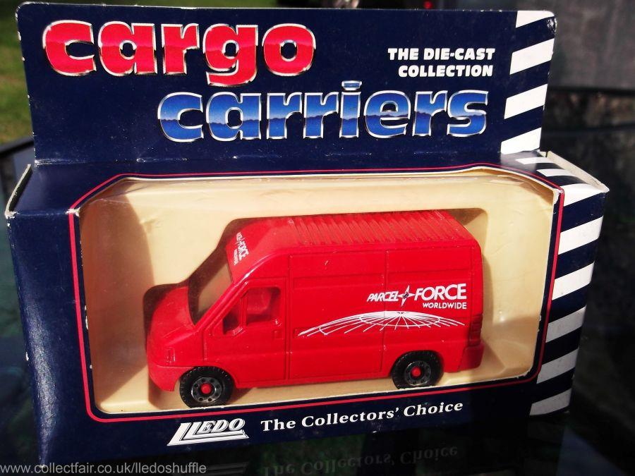 CC1001, Cargo Carriers Eurovan, Parcelforce Worldwide