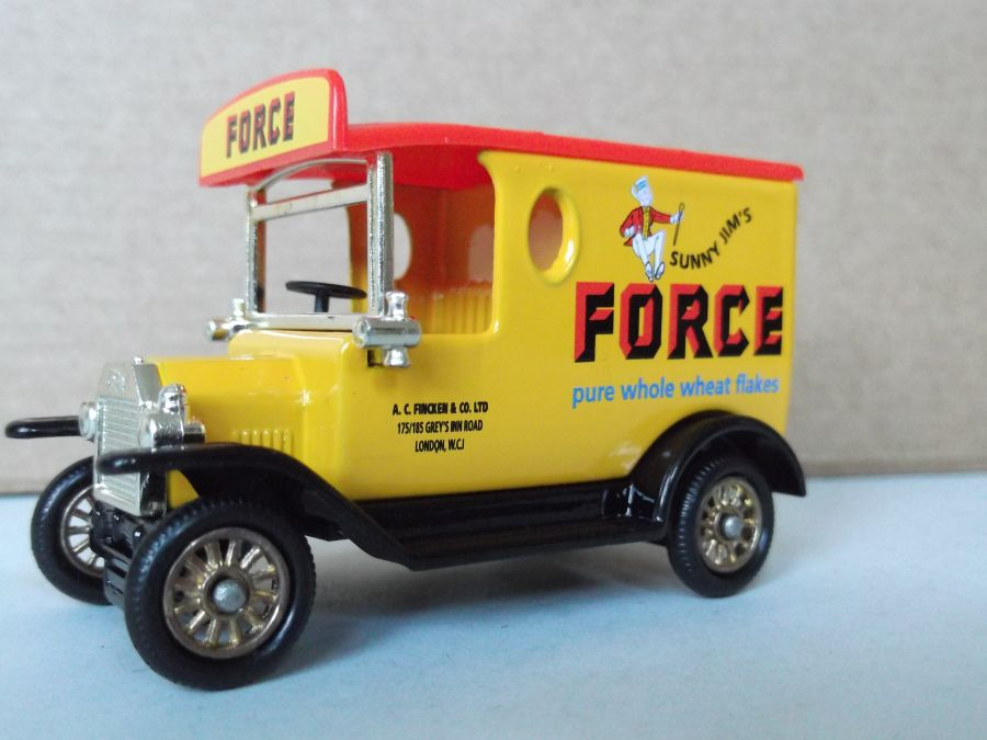 DG06204, Model T Ford, Sunny Jim's Force Flakes