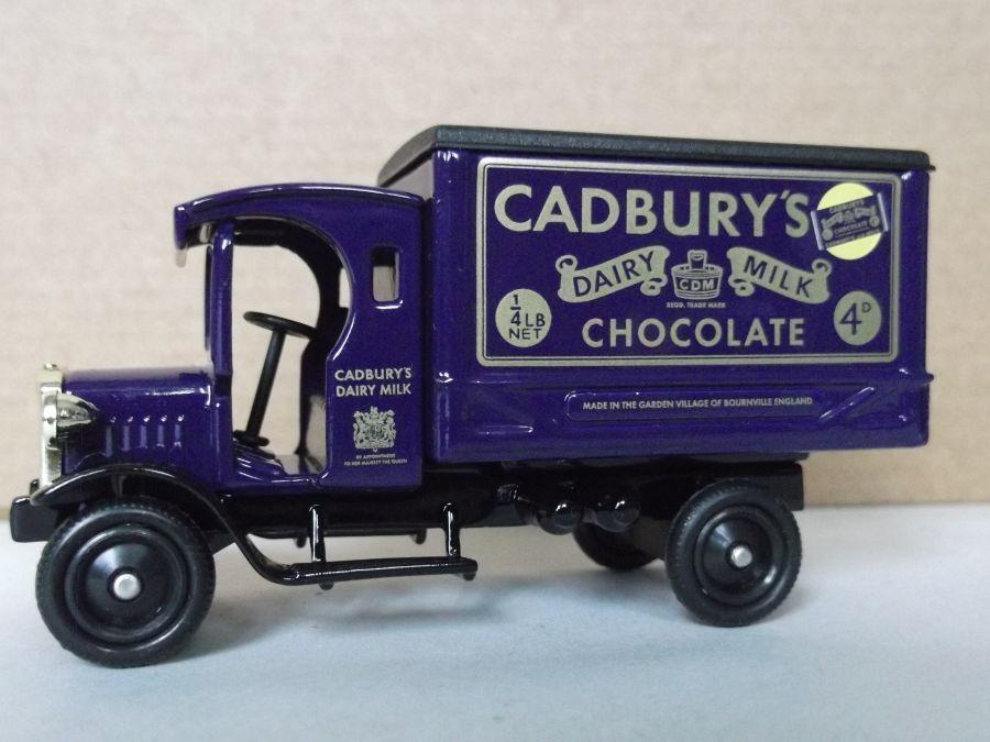 DG66036, Dennis Delivery Van, Cadbury's Dairy Milk Chocolate