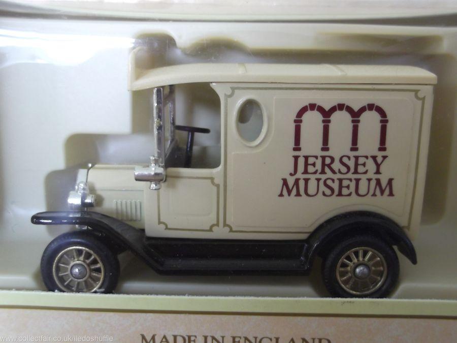 Code 3, PV006, Model T Ford Van, Jersey Museum