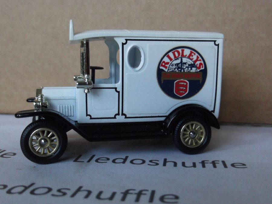 Code 3, PV006, Model T Ford Van, Ridleys, The Essex Brewer