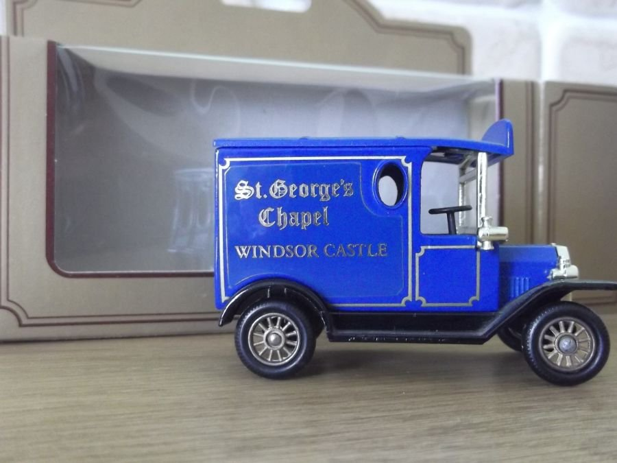 Code 3, PV006, Model T Ford Van, St Georges Chapel, Windsor Castle