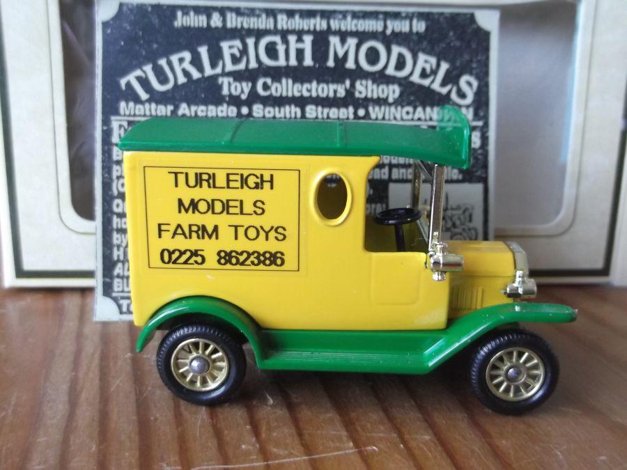 Code 3, PV006, Model T Ford Van, Turleigh Models Farm Toys