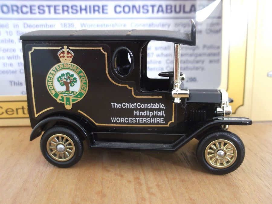 Code 3, PV006, Model T Ford Van, Worcestershire Constabulary