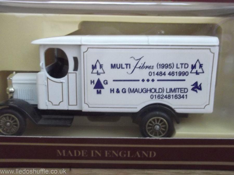 Code 3, PV043, Morris Van, Multi Fibres, H & G (Maughold) Ltd