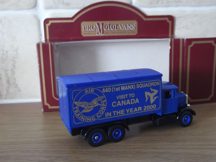 Code 3, PV044, Scammell 6w Truck, ATC 440 1st Manx Squadron, Visit to Canada in 2000