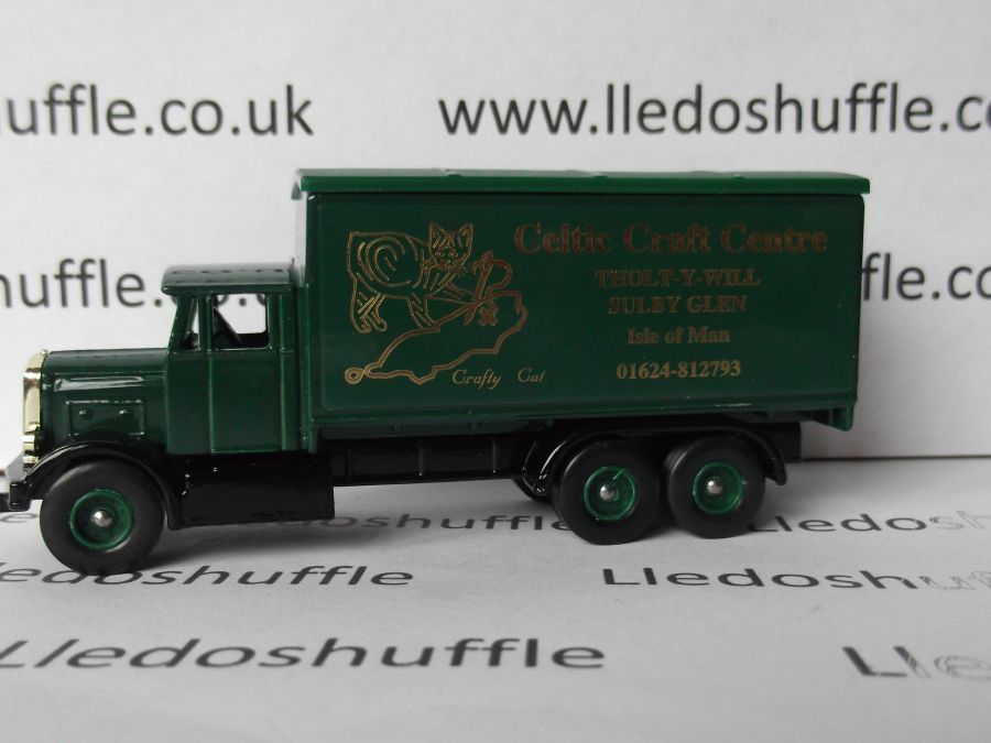 Code 3, PV044, Scammell 6w Truck, Celtic Craft Centre, Isle of Man