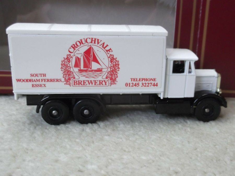 Code 3, PV044, Scammell 6w Truck, Crouchvale Brewery