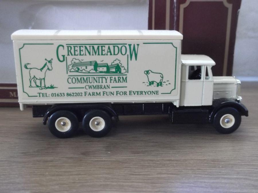Code 3, PV044, Scammell 6w Truck, Greenmeadow Community Farm, Cwmbran