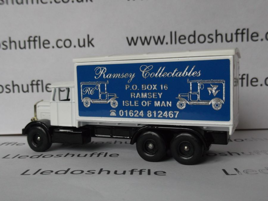 Code 3, PV044, Scammell 6w Truck, Ramsey Collectables, Isle of Man