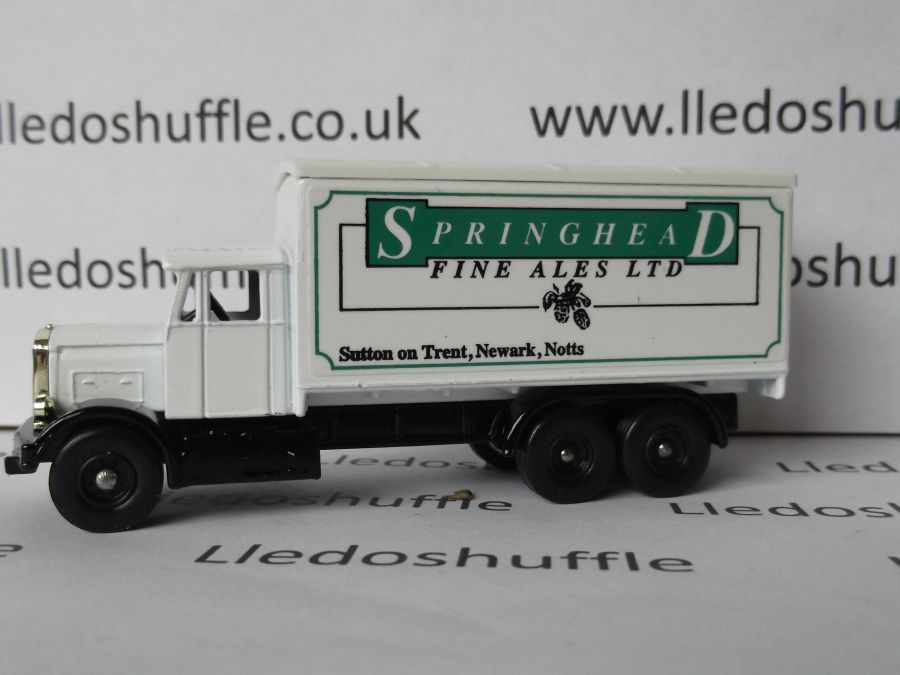 Code 3, PV044, Scammell 6w Truck, Springhead Fine Ales, Sutton on Trent