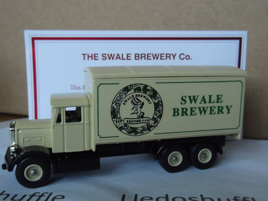 Code 3, PV044, Scammell 6w Truck, Swale Brewery, Kentish 3,4%