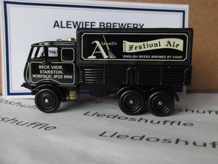 Code 3, PV081, Sentinel 6w Steam Wagon, Alewife Festival Ale, Norfolk