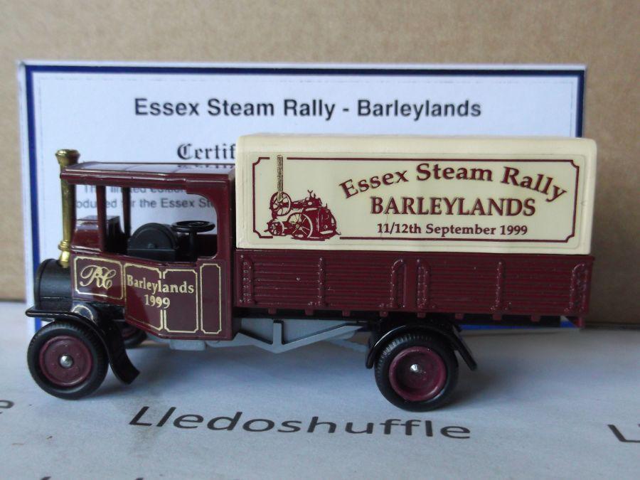 Code 3, PV091, Foden Steam Wagon, Essex Steam Rally 1999, Barleylands, Billericay